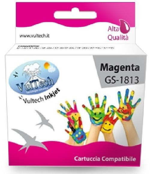 CARTUCCIA COMPATIBILE EPSON T1813 XL MAGENTA (GS-1813)